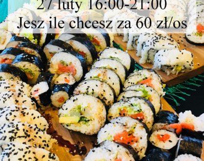 27 luty – Wieczór Sushi